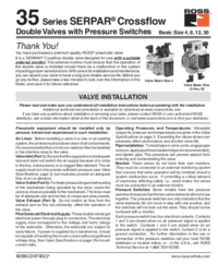 Thumb ross 35 series serpar crossflow double valves 4 8 12 30 installation instructions ss147 1496429576