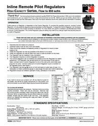 Thumb ross regulator inline remote pilot high capacity p 850scfm ss r020 1518541243 1518541251